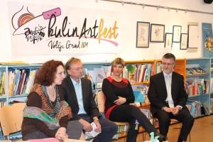 Tiskovna konferenca v Trstu